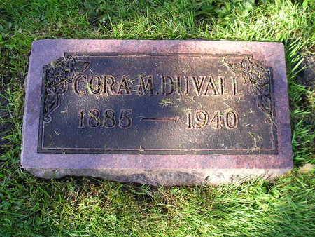 DUVALL, CORA M - Bremer County, Iowa   CORA M DUVALL