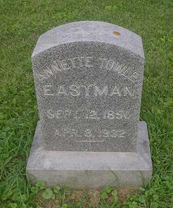 EASTMAN, ANNETTE - Bremer County, Iowa   ANNETTE EASTMAN