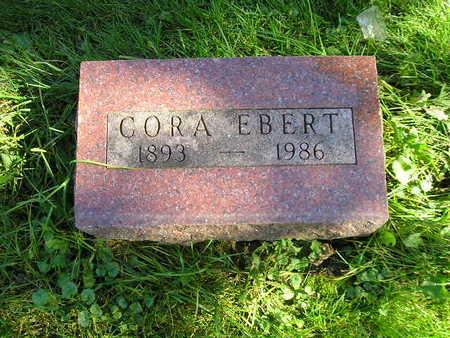 EBERT, CORA - Bremer County, Iowa   CORA EBERT