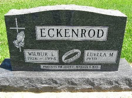 ECKENROD, WILBUR L - Bremer County, Iowa | WILBUR L ECKENROD
