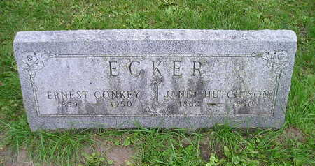 ECKER, ERNEST CONKEY - Bremer County, Iowa | ERNEST CONKEY ECKER