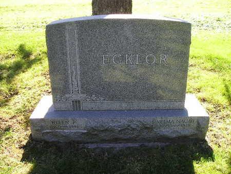 ECKLOR, HELEN P - Bremer County, Iowa | HELEN P ECKLOR