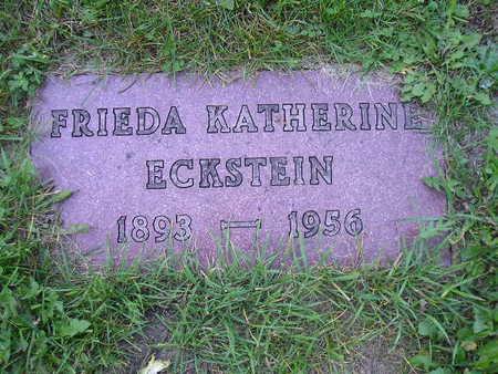 ECKSTEIN, FRIEDA KATHERINE - Bremer County, Iowa | FRIEDA KATHERINE ECKSTEIN