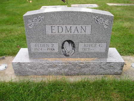 EDMAN, JOYCE G - Bremer County, Iowa | JOYCE G EDMAN
