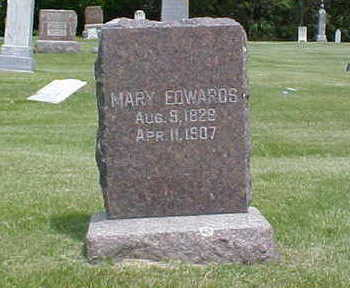 EDWARDS, MARY - Bremer County, Iowa | MARY EDWARDS
