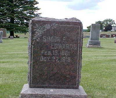 EDWARDS, SIMON F. - Bremer County, Iowa   SIMON F. EDWARDS