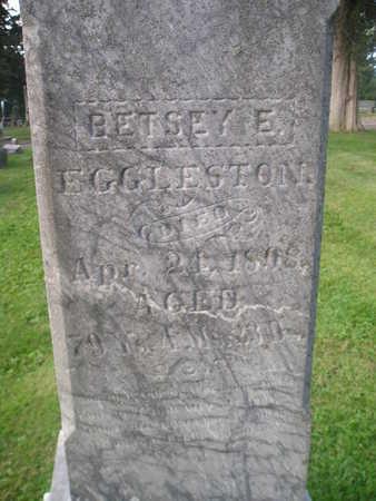 EGGLESTON, BETSEY - Bremer County, Iowa   BETSEY EGGLESTON