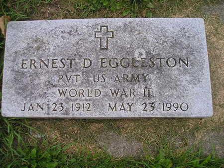 EGGLESTON, ERNEST D - Bremer County, Iowa | ERNEST D EGGLESTON