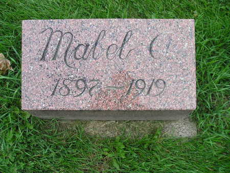 EGGLESTON, MABEL A - Bremer County, Iowa | MABEL A EGGLESTON