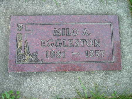 EGGLESTON, MILO A - Bremer County, Iowa | MILO A EGGLESTON