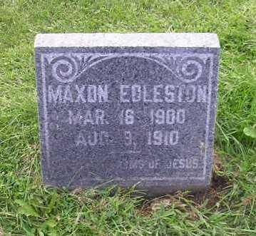 EGLESTON, MAXON - Bremer County, Iowa | MAXON EGLESTON