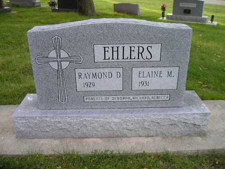 EHLERS, RAYMOND D - Bremer County, Iowa | RAYMOND D EHLERS