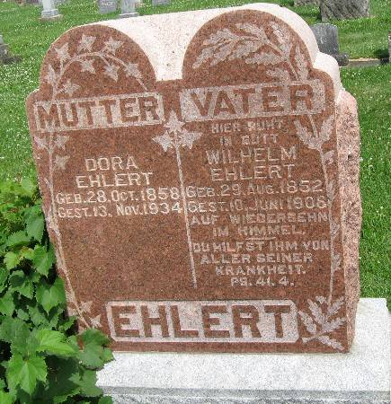 EHLERT, WILHELM - Bremer County, Iowa | WILHELM EHLERT