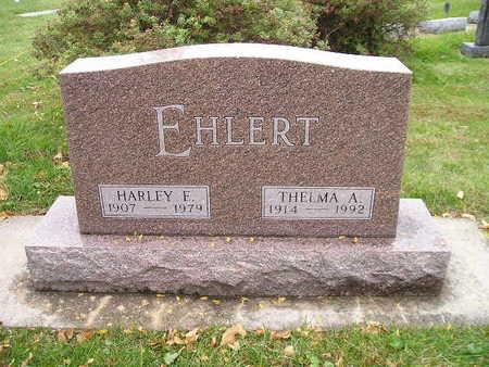 EHLERT, HARLEY E - Bremer County, Iowa | HARLEY E EHLERT
