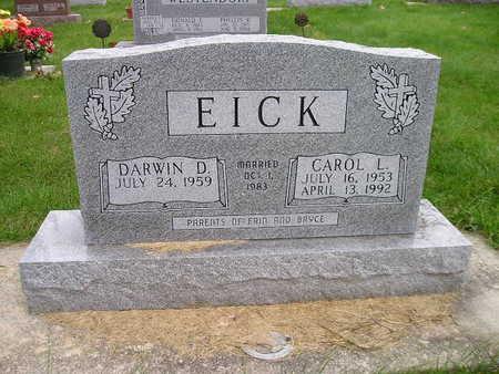 EICK, CAROL L - Bremer County, Iowa | CAROL L EICK