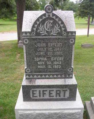 EIFERT, JOHN - Bremer County, Iowa | JOHN EIFERT