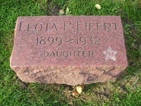 EIFERT, LEOTA P - Bremer County, Iowa | LEOTA P EIFERT