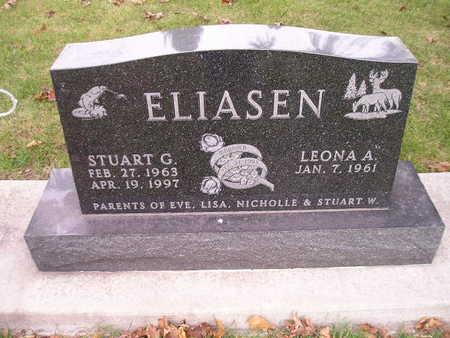 ELIASEN, LEONA A - Bremer County, Iowa | LEONA A ELIASEN
