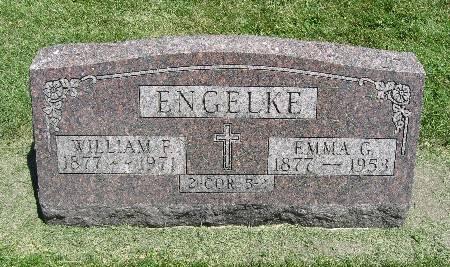 ENGELKE, WILLIAM F. - Bremer County, Iowa | WILLIAM F. ENGELKE