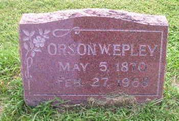 EPLEY, ORSON - Bremer County, Iowa | ORSON EPLEY