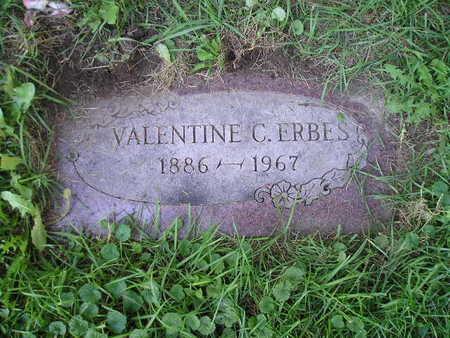 ERBES, VALENTINE - Bremer County, Iowa   VALENTINE ERBES