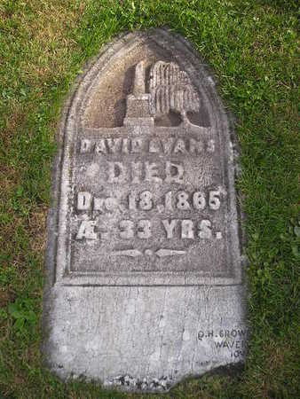EVANS, DAVID - Bremer County, Iowa | DAVID EVANS