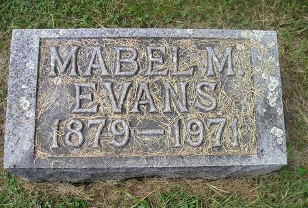 EVANS, MABEL M. - Bremer County, Iowa   MABEL M. EVANS