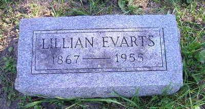 EVARTS, LILLIAN - Bremer County, Iowa   LILLIAN EVARTS