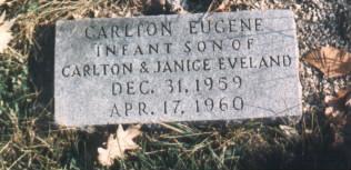 EVELAND, CARLTON - Bremer County, Iowa | CARLTON EVELAND
