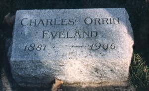 EVELAND, CHARLES - Bremer County, Iowa   CHARLES EVELAND