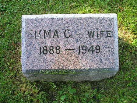 EVELAND, EMMA C - Bremer County, Iowa | EMMA C EVELAND