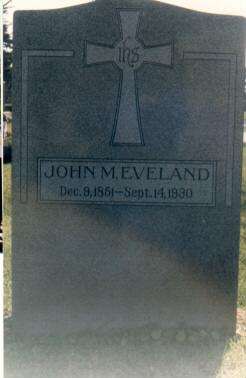 EVELAND, JOHN - Bremer County, Iowa | JOHN EVELAND