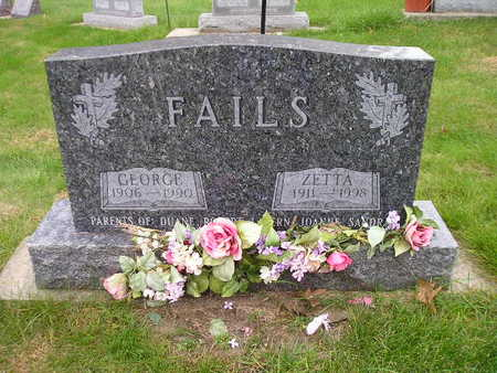 FAILS, GEORGE - Bremer County, Iowa | GEORGE FAILS