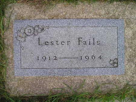 FAILS, LESTER - Bremer County, Iowa   LESTER FAILS