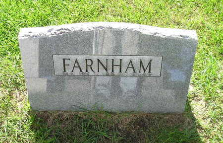 FARNHAM, CHARLES R - Bremer County, Iowa   CHARLES R FARNHAM