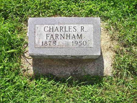 FARNHAM, CHARLES R - Bremer County, Iowa | CHARLES R FARNHAM