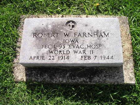 FARNHAM, ROBERT W - Bremer County, Iowa | ROBERT W FARNHAM