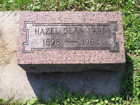 FARR, HAZEL DEAN - Bremer County, Iowa | HAZEL DEAN FARR