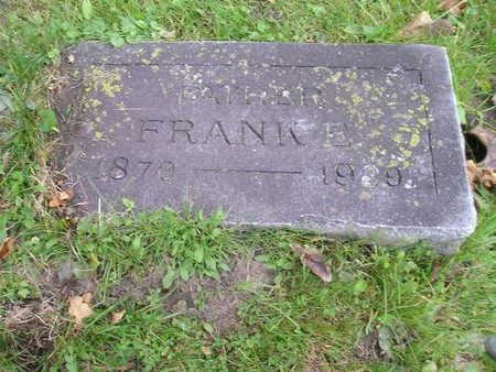 FARWELL, FRANK E - Bremer County, Iowa | FRANK E FARWELL