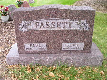 FASSETT, RENA - Bremer County, Iowa | RENA FASSETT