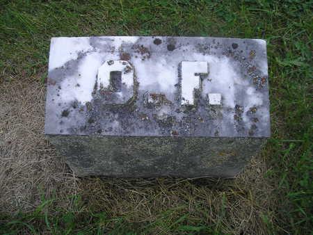 FAVILLE, O F (ORAN) - Bremer County, Iowa | O F (ORAN) FAVILLE