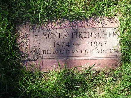 FIKENSCHER, AGNES - Bremer County, Iowa | AGNES FIKENSCHER