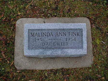 FINK, MALINDA ANN - Bremer County, Iowa | MALINDA ANN FINK