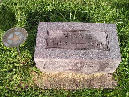 FINLEY, MINNIE - Bremer County, Iowa | MINNIE FINLEY