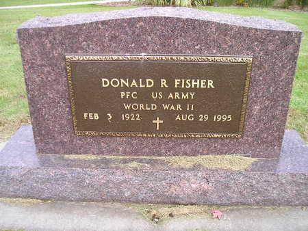 FISHER, DONALD R - Bremer County, Iowa   DONALD R FISHER