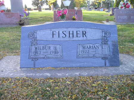 FISHER, WILBUR H - Bremer County, Iowa | WILBUR H FISHER