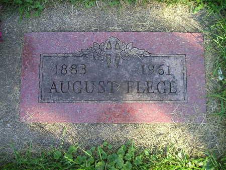 FLEGE, AUGUST - Bremer County, Iowa   AUGUST FLEGE