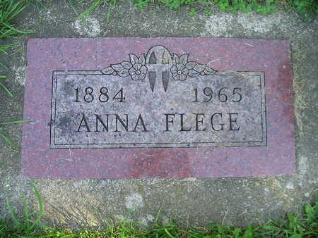 FLEGE, ANNA - Bremer County, Iowa | ANNA FLEGE