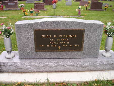 FLESHNER, GLEN R - Bremer County, Iowa | GLEN R FLESHNER