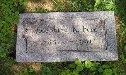 FORD, JOSEPHINE K. - Bremer County, Iowa | JOSEPHINE K. FORD